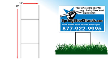 U-Wire - For Poly Bag Yard Signs